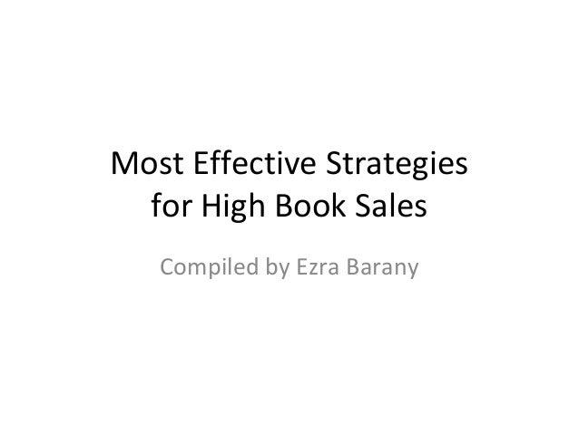Best Book Sales Strategies