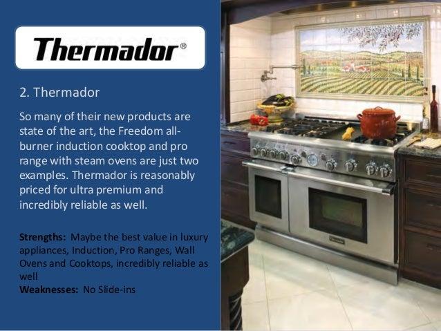 Top 10 luxury kitchen appliance brands for Brands appliances