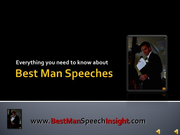 Everything you need to know about  www. BestMan Speech Insight .com