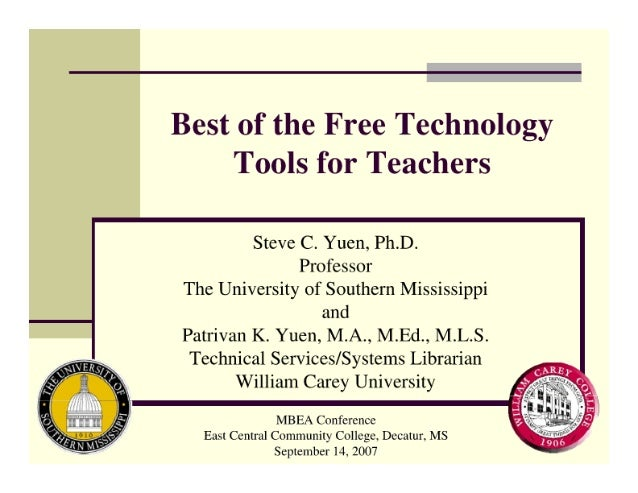 Best of The Free Technology Tools For Teachers