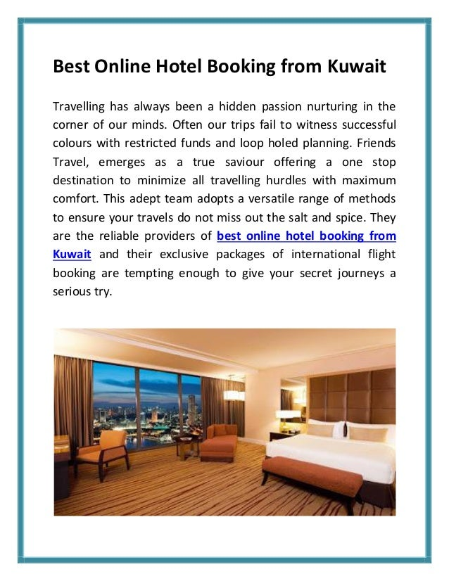 Best online hotel booking from kuwait for Ideal hotel design booking