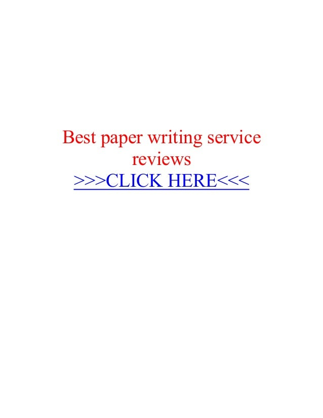 What are the best paper writing services