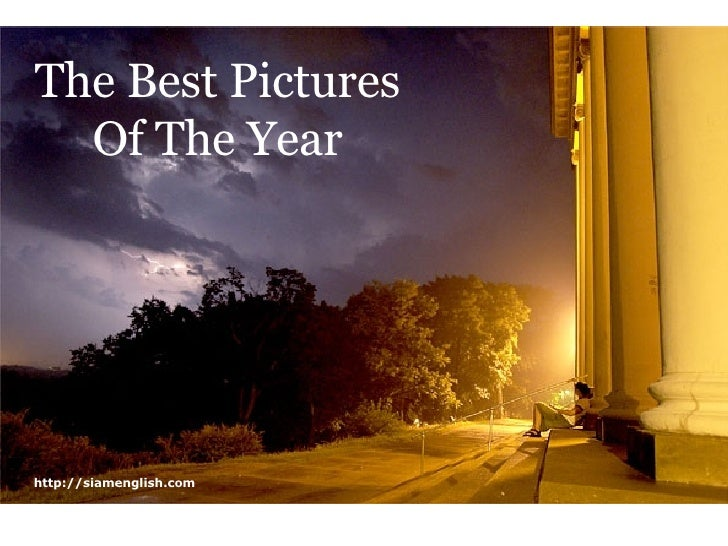 The Best Pictures Of The Year http://siamenglish.com
