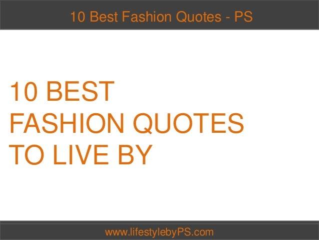 Best Fashion Quotes Quotesgram