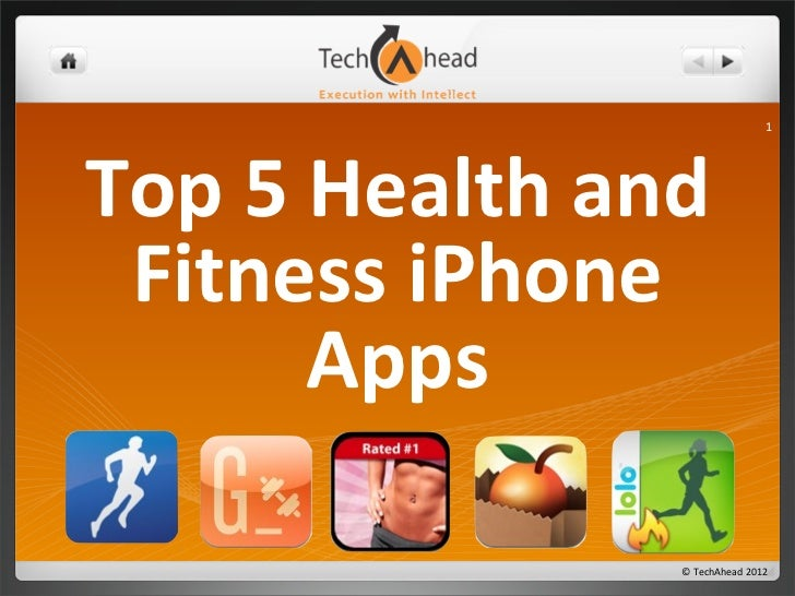 Best 5 Health and Fitness iPhone Apps