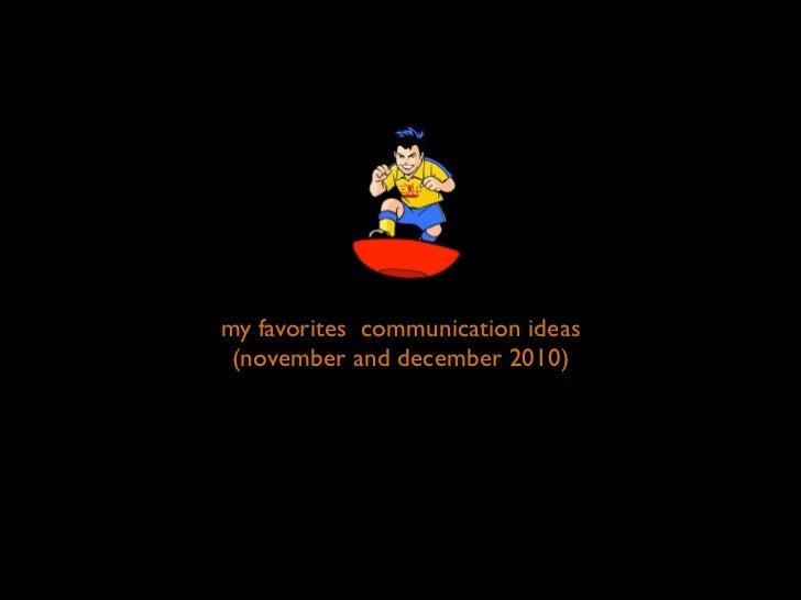 Best adv november&december