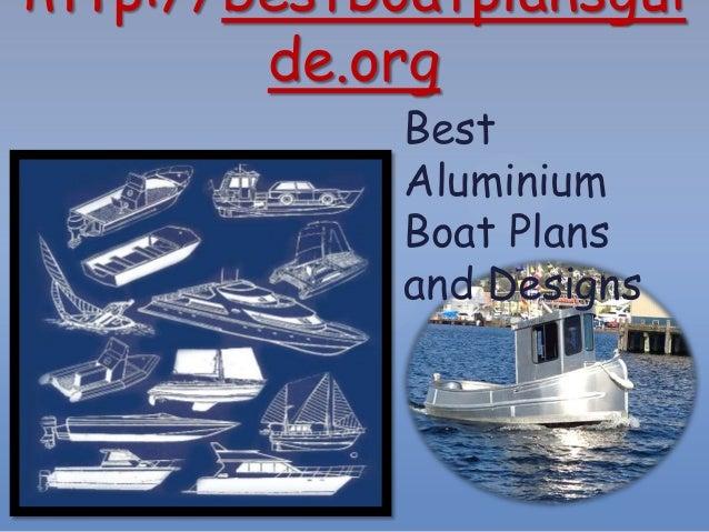 Best Aluminium Boat Plans And Designs