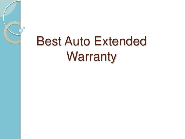 Best Auto Extended Warranty<br />