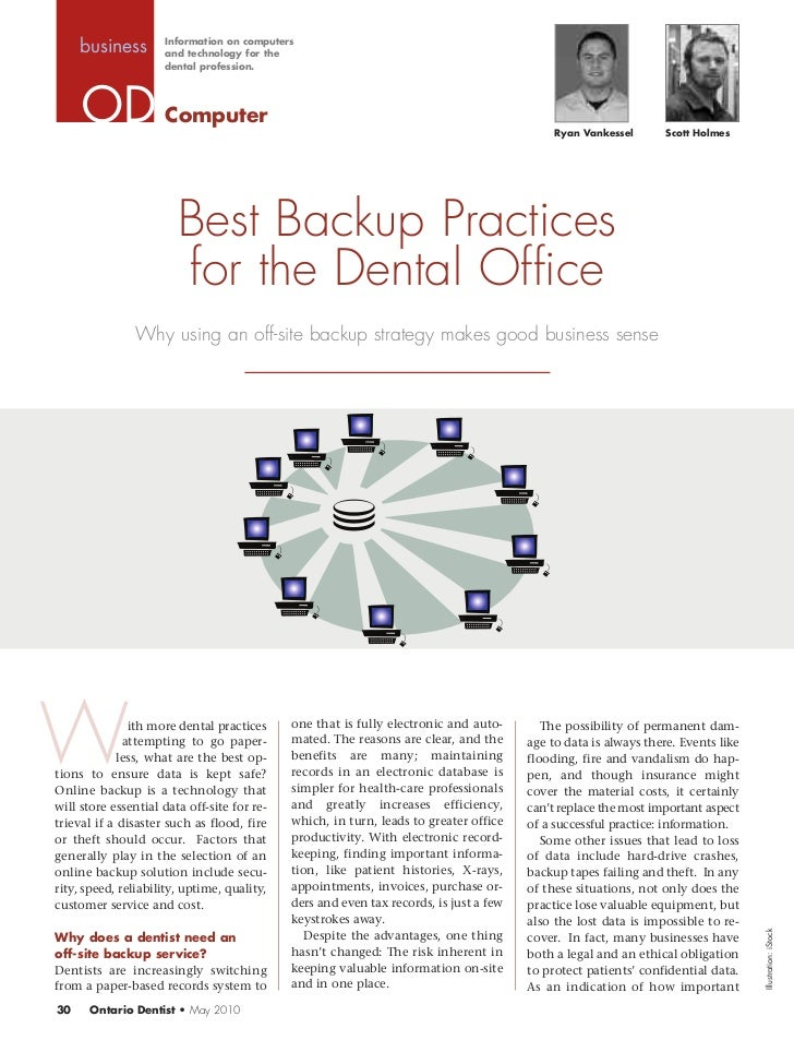 Information on computers     business        and technology for the                     dental profession.                ...