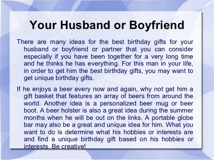 Birthday Ideas For Boyfriend Who Has Everything Image