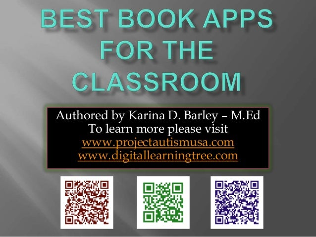 Best iPad Book Apps for the Classroom