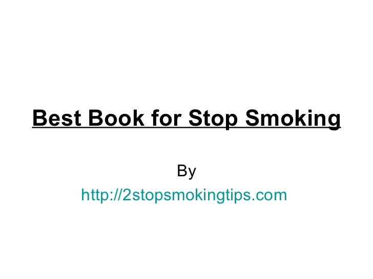 Best book for stop smoking