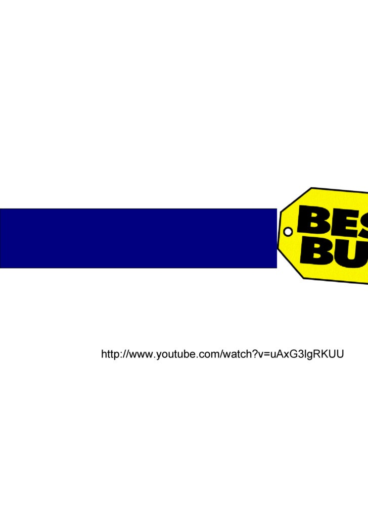 Best Buy Marketing Analysis Presentation