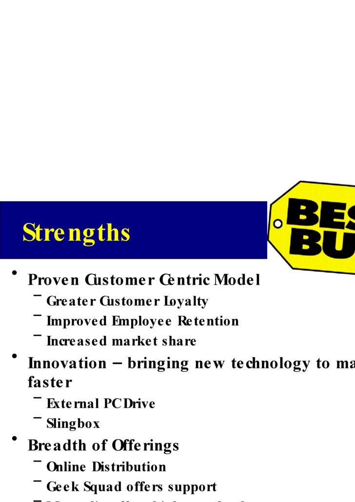 best buy customer centricity case study analysis This was, i think, one of my better case responses - prepared for corporate strategy class best buy's customer centricity campaign was an experiment in.
