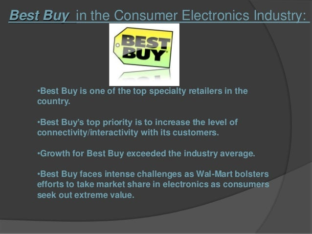 best buy analysis This is a case analysis on reinventing best buy conducted as a part of retail  management course.