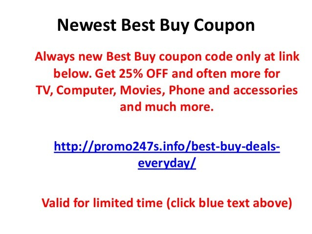Newest best buy couponalways new best buy coupon code only at
