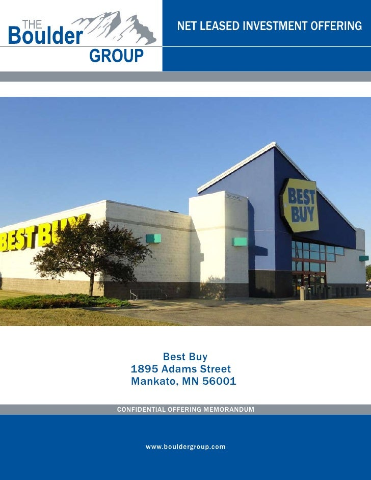 Net Leased Best Buy Property