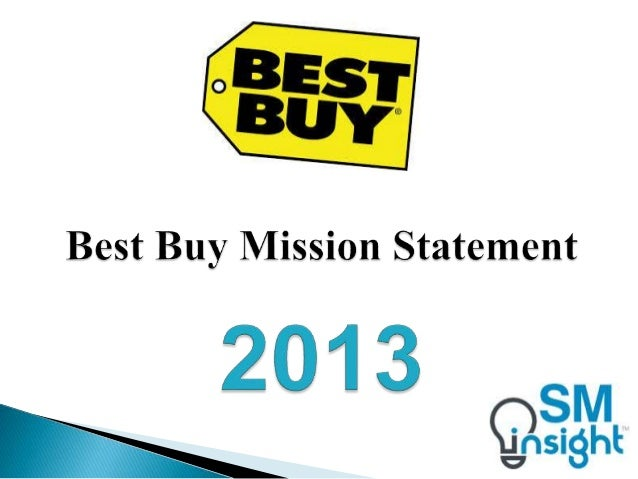 best buy mission statement