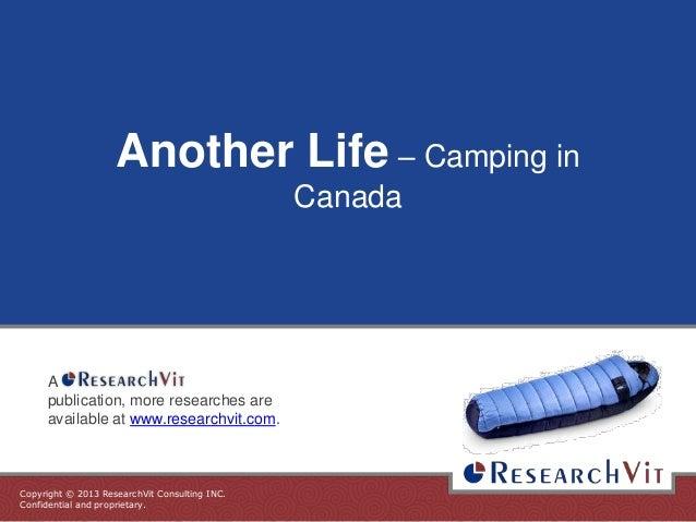Another Life – Campingin Canada