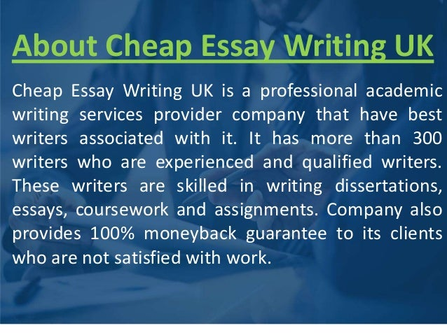 Write my cheap essays