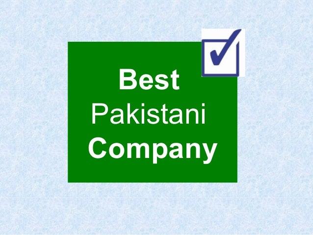 Best Pakistani Company
