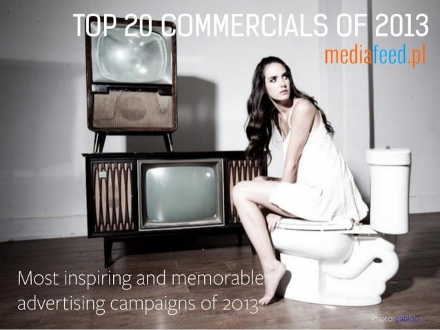 Best commercials of 2013 (Top20)