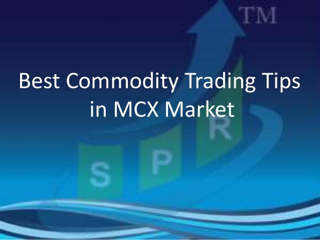 Trading strategies in commodity market ppt