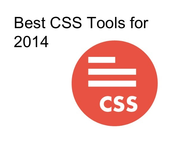 Best CSS Tools for 2014