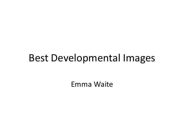 Best developmental images
