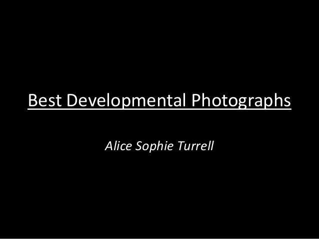 Best developmental photographs