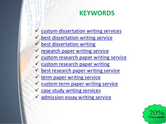 Dissertation writers required