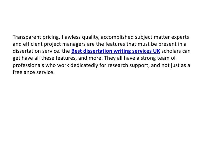 Dissertation House: No 1 Dissertation Writing Service UK
