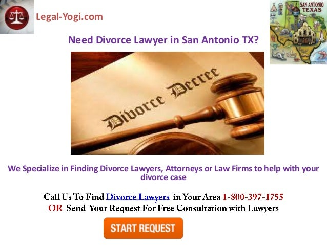 Legal-Yogi.com               Need Divorce Lawyer in San Antonio TX?We Specialize in Finding Divorce Lawyers, Attorneys or ...