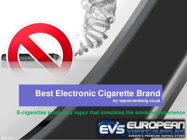 Vapour e cig how to use