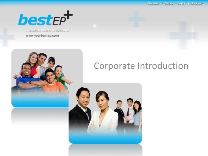 Bestep Corporate Presentation