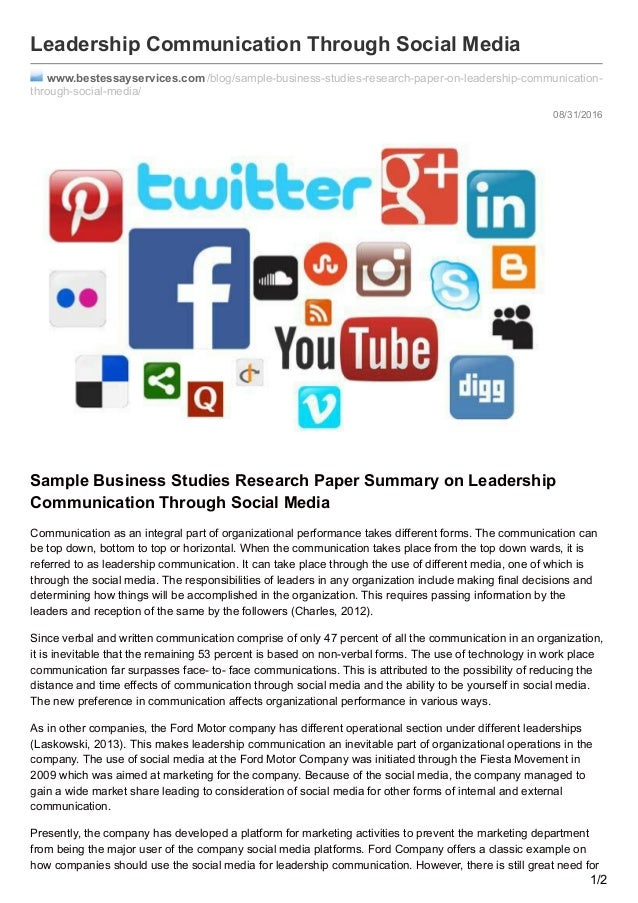 essay about social media communication Here you can read social media essay sample which is a typical article about social media tendencies and their influence on society.