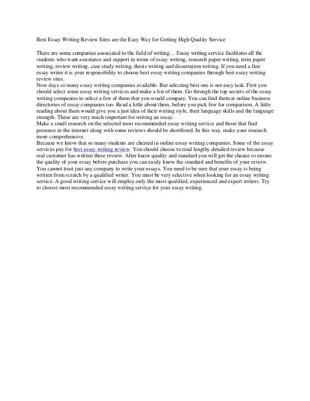 essay com sites example of