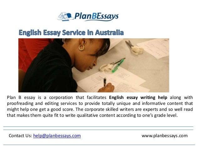 Essay Service Australia