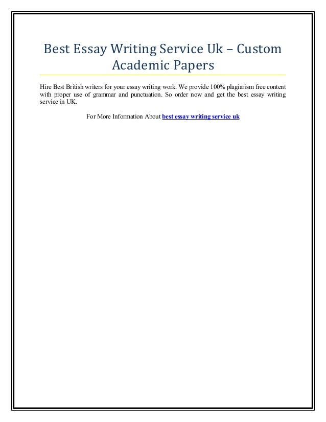 Custom writing papers