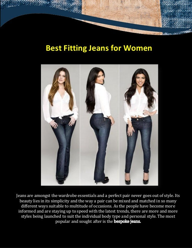 Best Fitting Jeans for Women