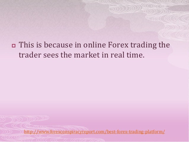 Best online trading platform for forex