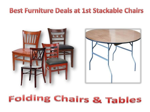 best furniture deals at 1st stackable chairs
