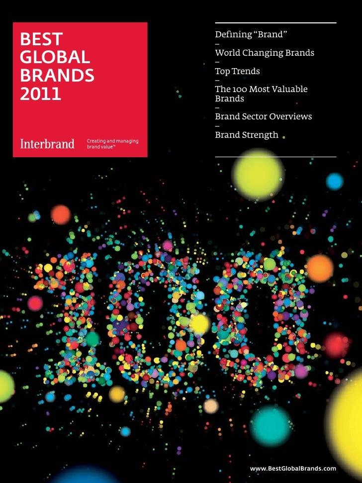 Best Global Brands 2011