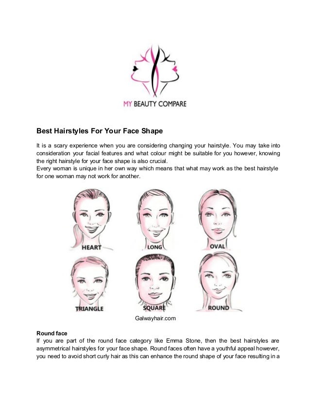 Best hairstyle for your face type : Best hairstyles for your face shape