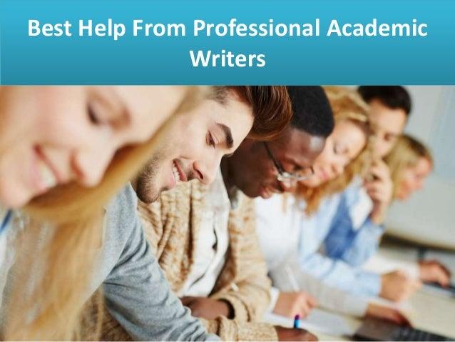 Professional academic writers