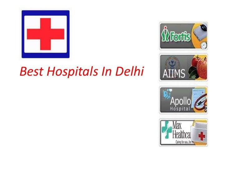 Best Hospitals In Delhi