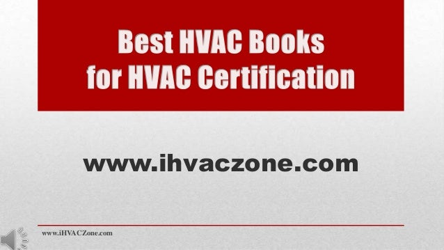 What is the best book for learning HVAC for a fresh engineer?