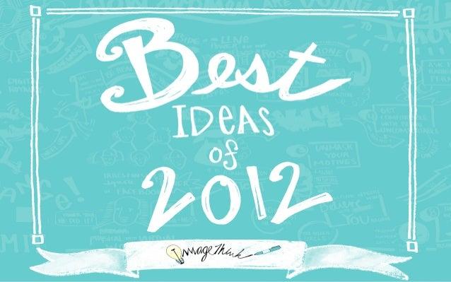 Best Ideas of 2012