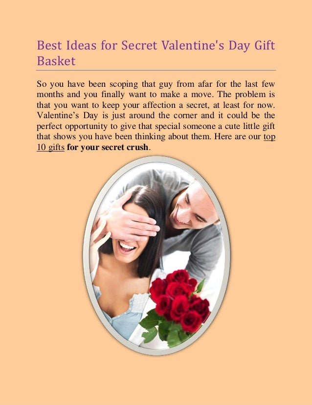 Valentine 39 s day gift basket ideas for Best ideas for valentines day gifts