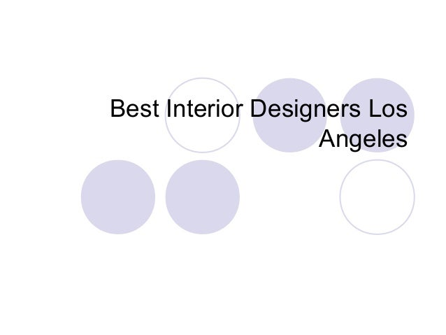 Best Interior Designers Los Angeles